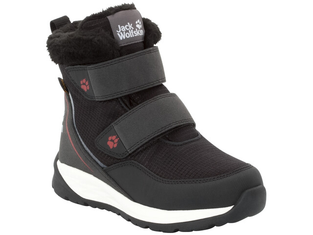 the latest fbd12 152d9 Jack Wolfskin Polar Wolf Texapore VC Mid Shoes Kids black/white